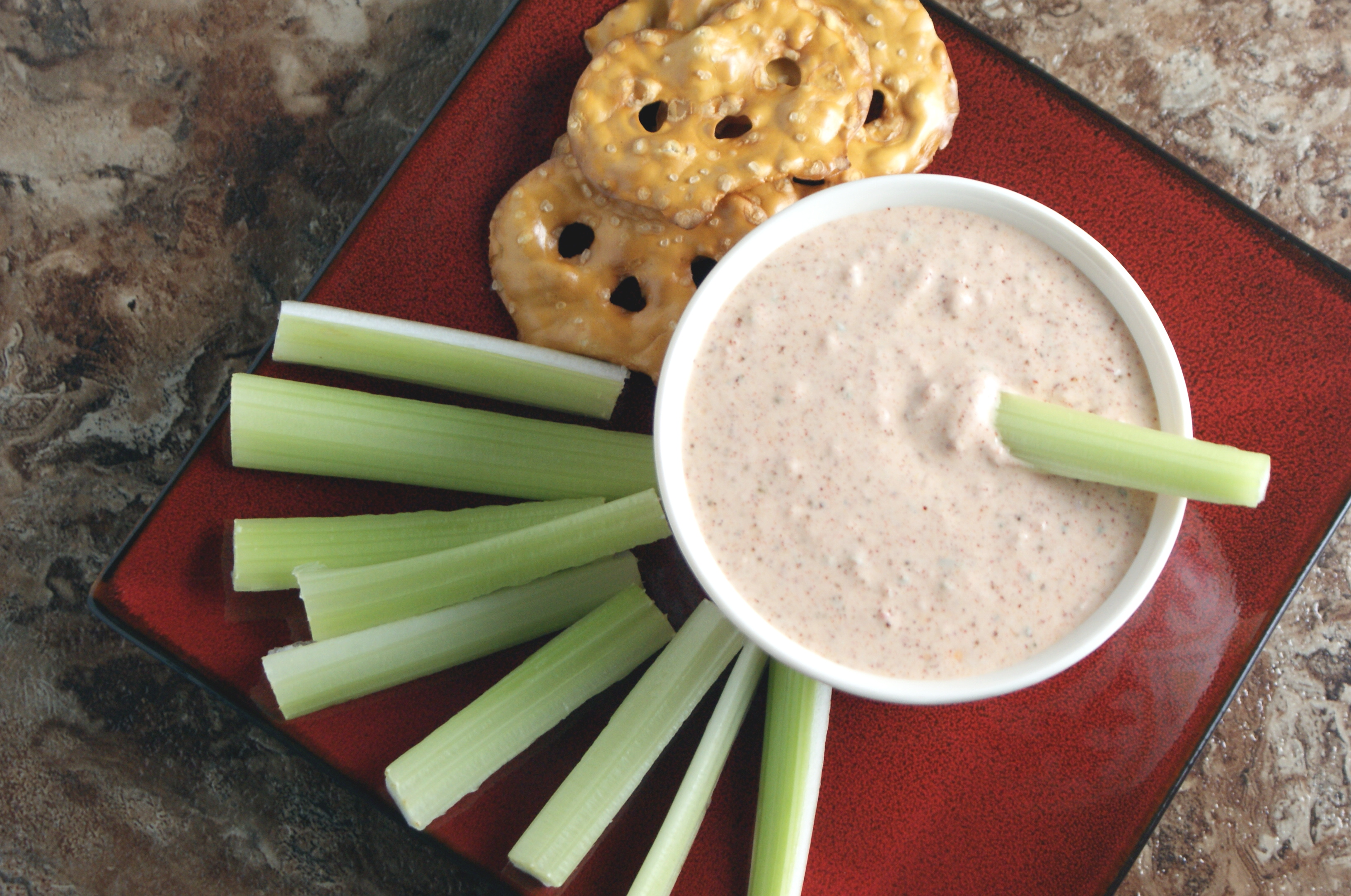 Spicy Yogurt Dip