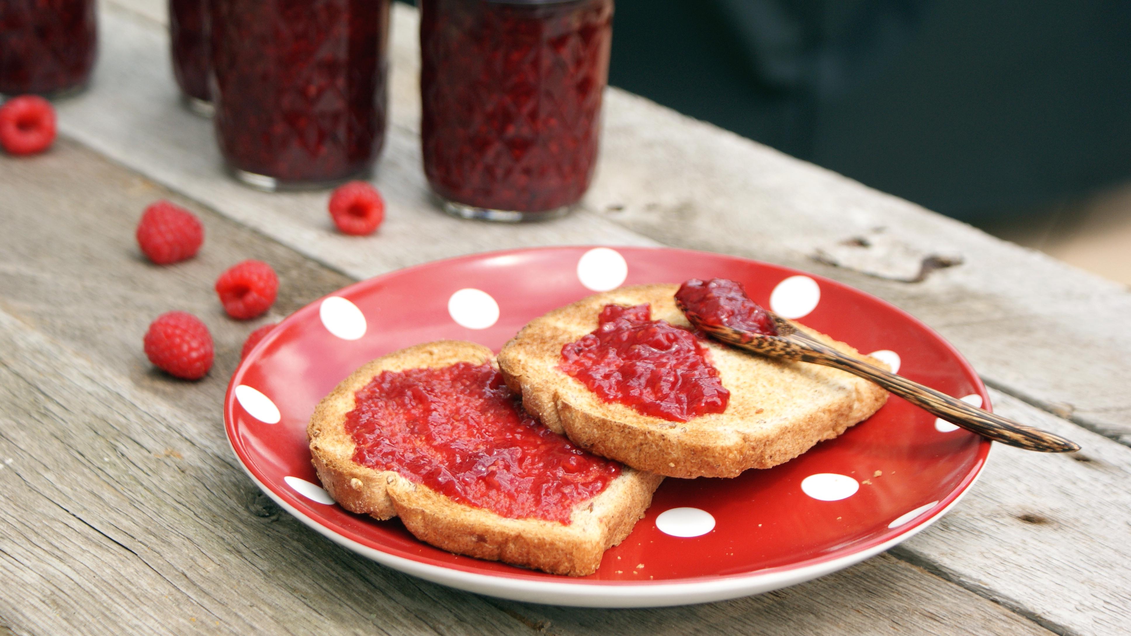 Honey Raspberry Jam
