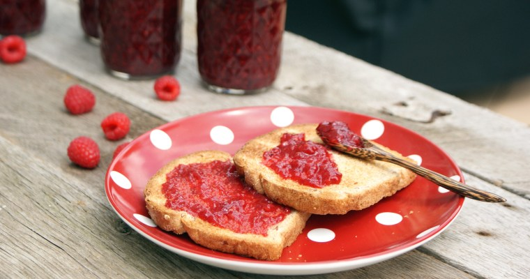 Honey Raspberry Jam