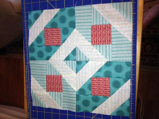 Metro Mod Quilt Block