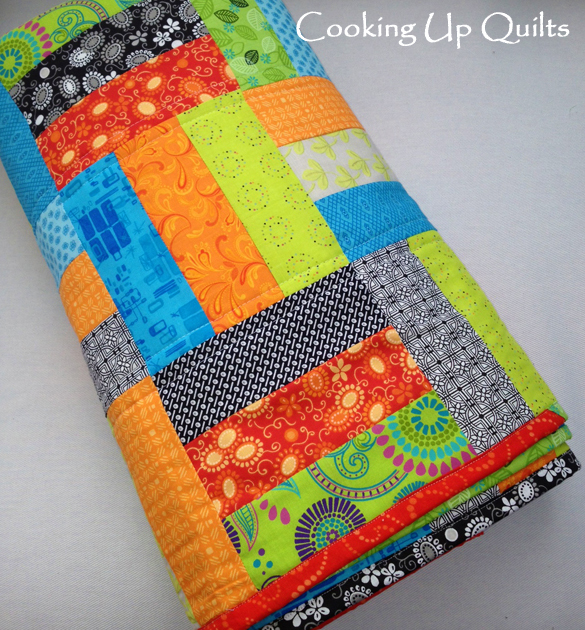 Rail Fence Quilt Binding