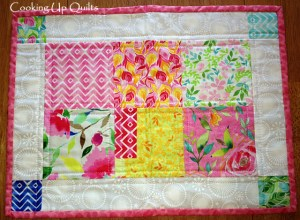 Placemat Tutorial Quilted