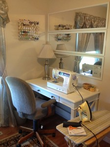 Cooking Up Quilts Sewing Space