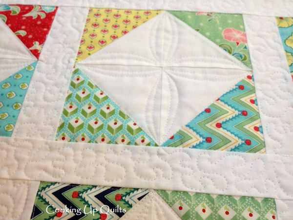 Scrappy Doll Quilt Detail