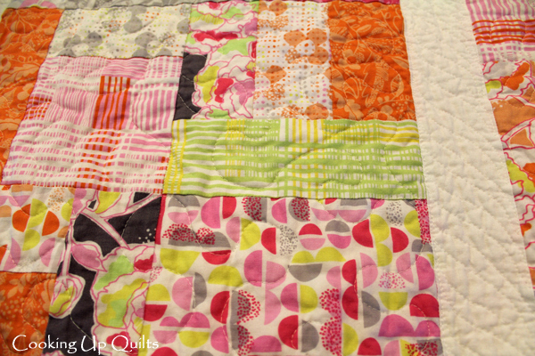 Quilting Texture Post Wash
