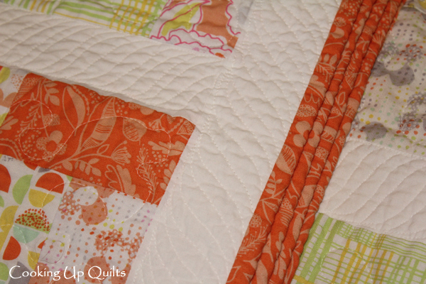 Quilting Texture pre-wash