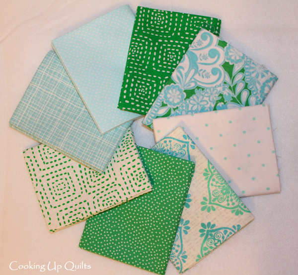 Fat Quarter Bundle Sea Glass