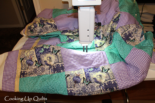 Flowers & Loops quilting