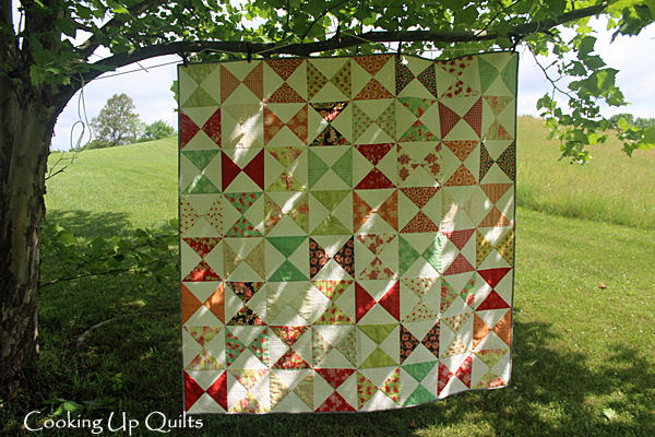 Timeless - An hourglass block quilt