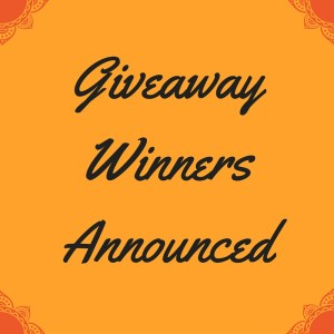 Giveaway Winners Announced! (1)