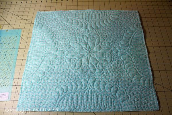 Hobb's Wool Batting Texture