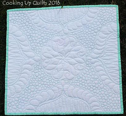 Mini Wholecloth Quilt