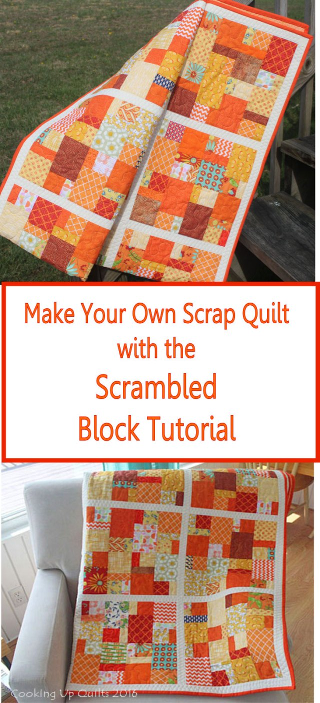A great Tutorial for making this block with scraps.
