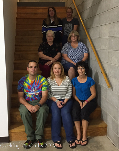 Quilter Bloggers Retreat Group