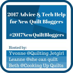 New Quilt Bloggers Blog Hop