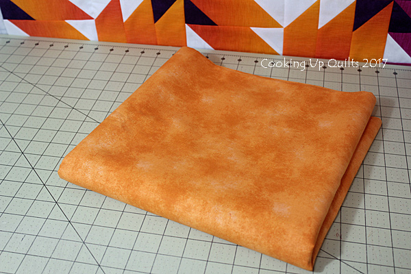 Backing fabric for Ombre Quilt