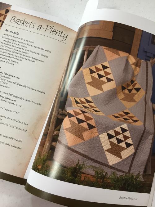 Baskets A-Plenty Pattern