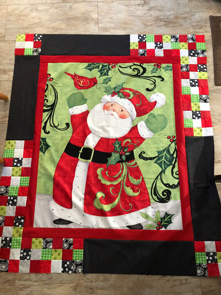 Mcm 135 Santa Claus Is Coming To Town Cooking Up Quilts