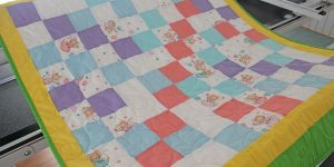 Baby Quilt Finish