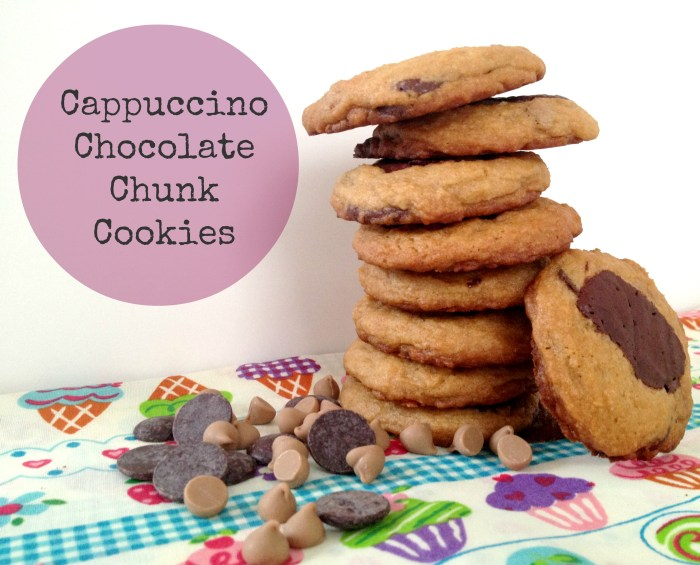 Cappuccino Chocolate Chunk Cookies by Cooking with Books1