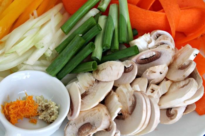 Orange Ginger Shrimp Stir-Fry