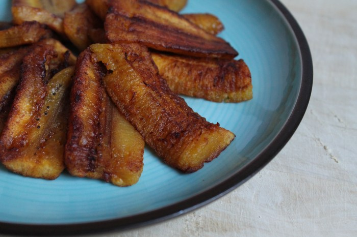 Fried sweet plantains help to bring a taste of the Caribbean islands into your home. They're perfect as a snack, appetizer, or side dish. Get the recipe on CookingWithBooks.net