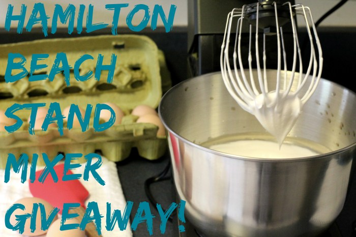 Hamilton Beach Stand Mixer Giveaway