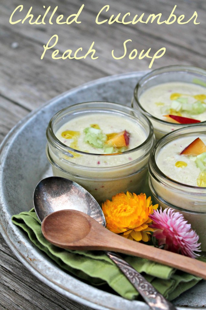 Chilled Cucumber Peach Soup 02