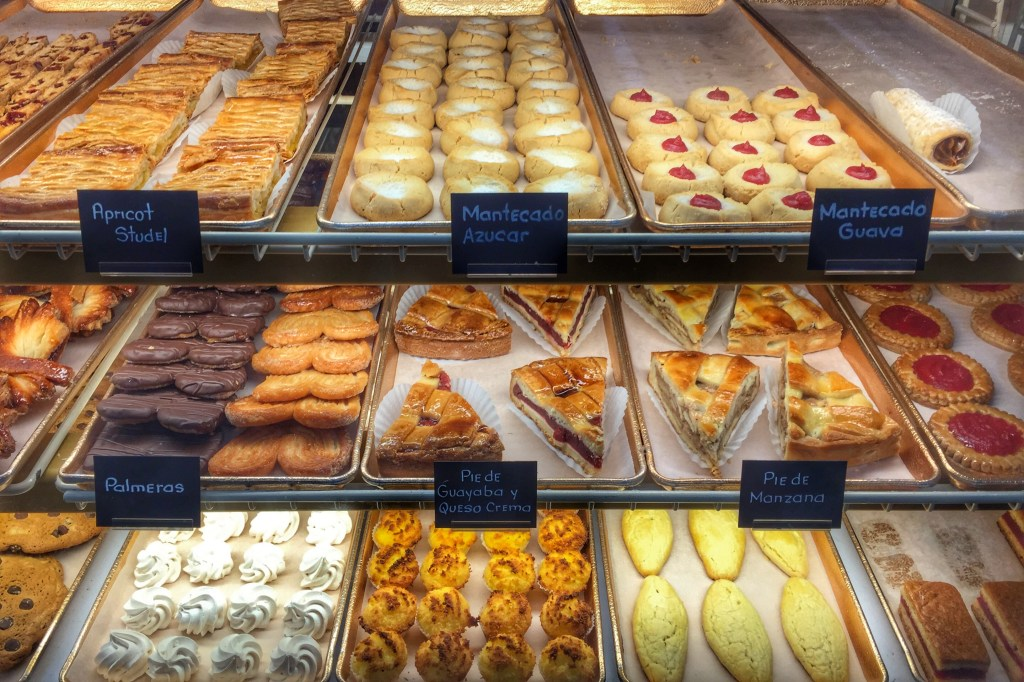 The desserts at Cuban bakeries range from pastries to cakes and more.