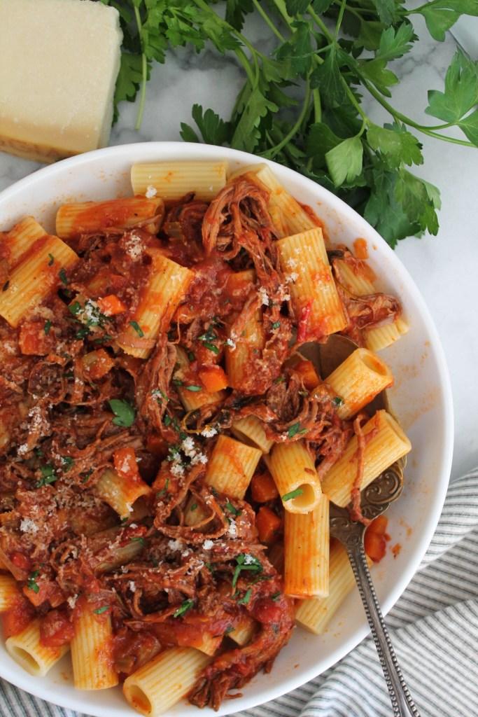 Braised Beef Ragu recipe
