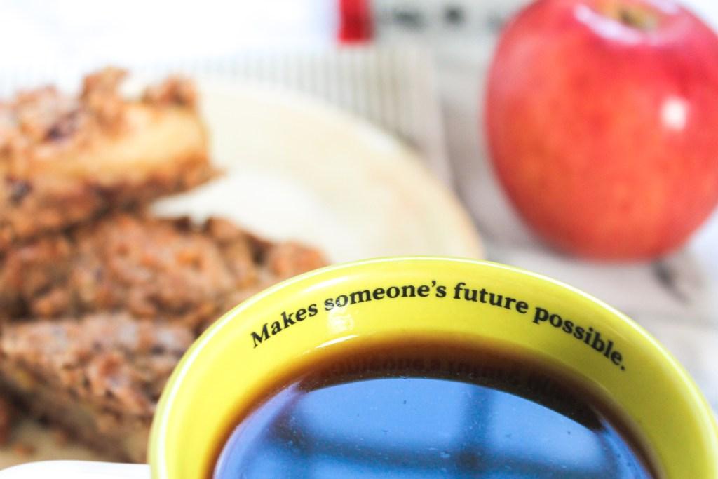 Apple Coffee Streusel Bars
