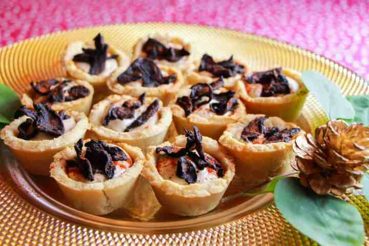 Vegan and Gluten Free but you'd never know it – these little tartlets are so good they will be devoured by everyone!