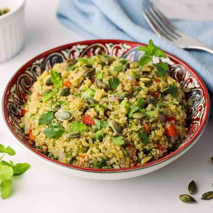 Fresh Herby Quinoa Salad