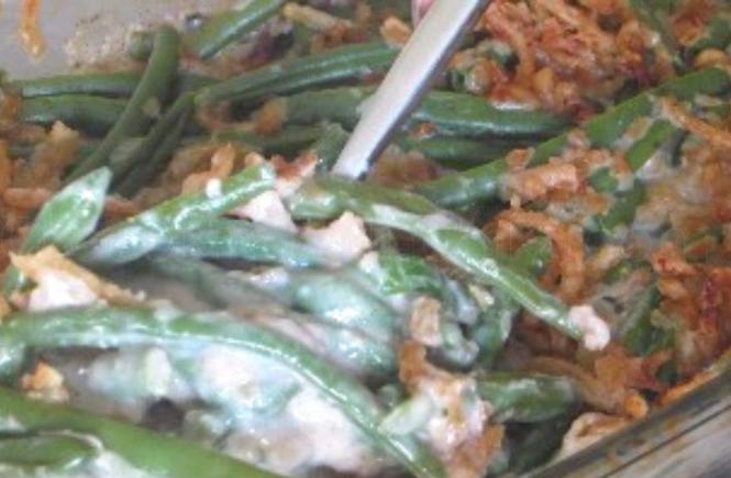 Classic Campbell's Green Bean Casserol Recipe