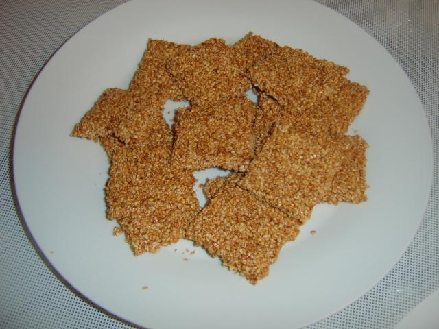 Snack au Sesame (Semsemie)