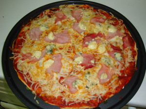 pizza jambon
