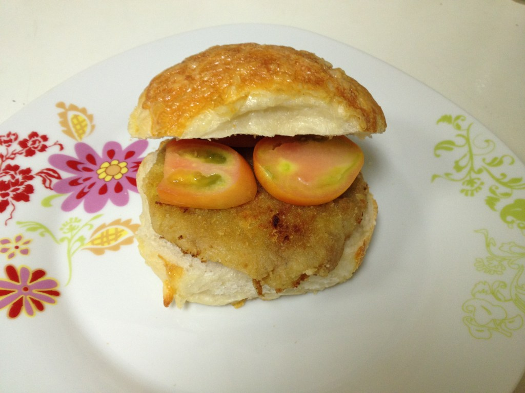 Burger a la patate douce