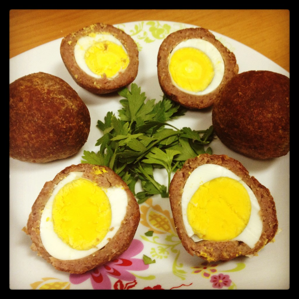Kebbe with Eggs