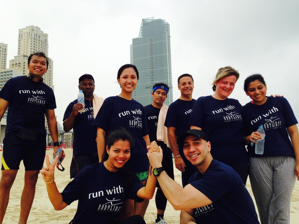 Re-Launch of the JBR Running Club of Amwaj Rotana