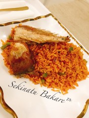 Jollof rice (stir fried method)