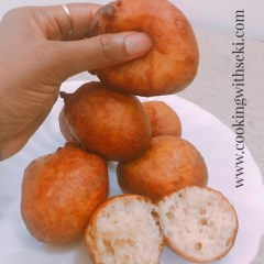 Puff Puff (with bread flour)