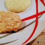 Pasta con crema di parmigiano, pancetta e pepe