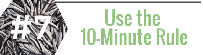 10-Minute Cooking Rule