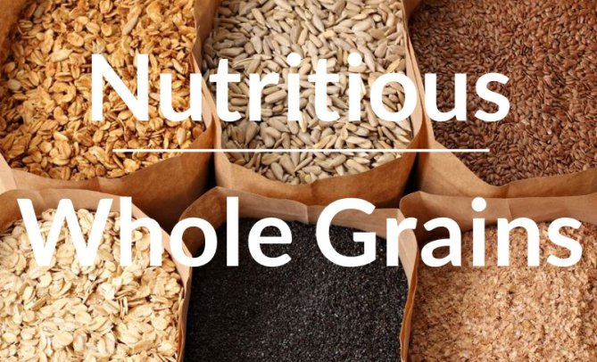 Nutritious Whole Grains