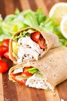 Chicken Caesar Salad Wraps Recipe
