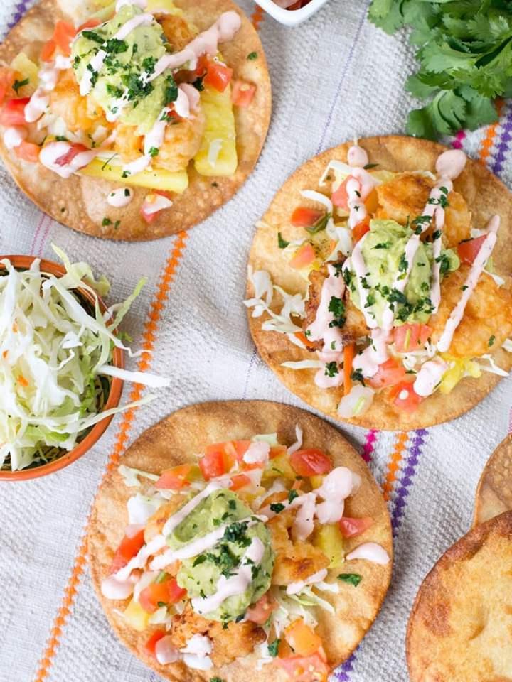 Ingredients For Bang Bang Shrimp Taco Recipe