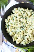 Creamy Spinach Pasta Homemade Mac And Cheese Recipe