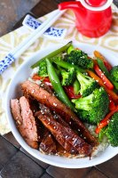 Variations For Soy Marinated Flank Steak Stir-Fry