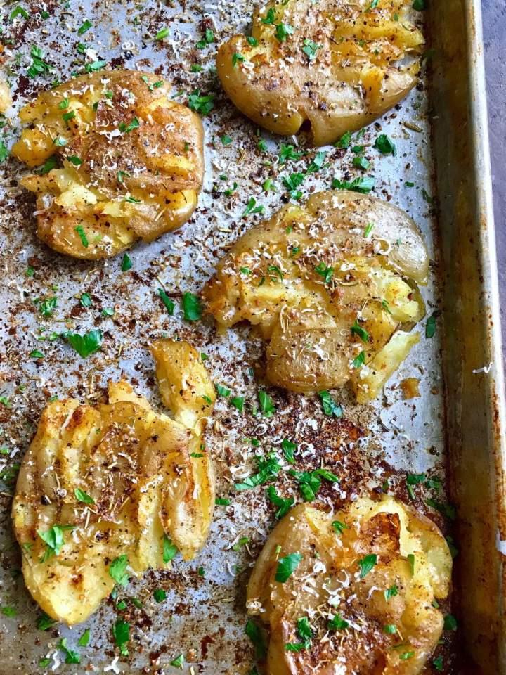 Parmesan Herbed Potatoes Recipe