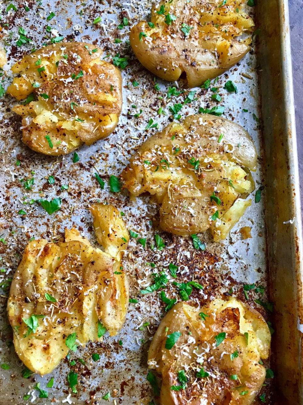 Parmesan Herbed Potatoes